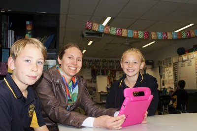 Teacher and La Trobe alumna Carla Scholes and her students get creative.