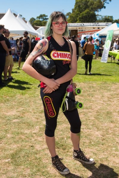 Imogen Smith says uni students make great roller derby players.